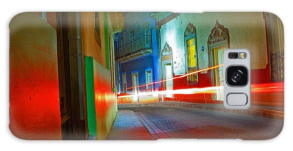 Galaxy Case featuring the photograph Guanajuato Night by Skip Hunt