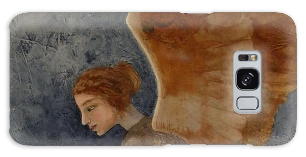 Guardian Angel Galaxy Case by Terry Honstead