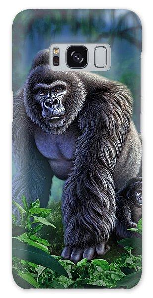 Gorilla Galaxy S8 Case - Guardian by Jerry LoFaro