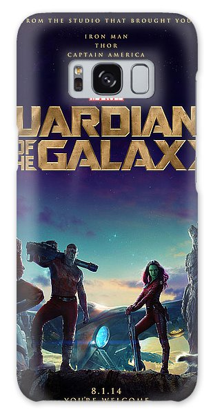 The Avengers Galaxy Case - Guardians Of The Galaxy Poster by Geek N Rock