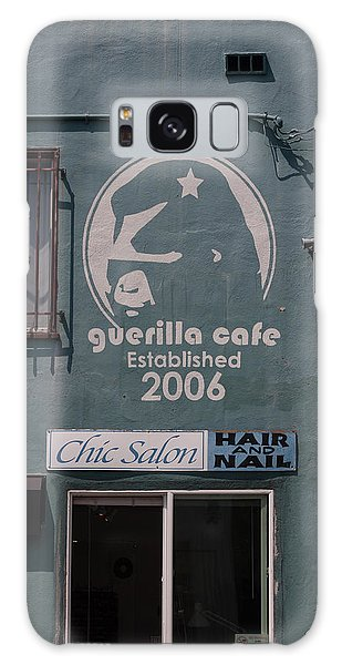 Galaxy Case - Guerilla Cafe - Chic Hair And Nails by Suzanne Gaff