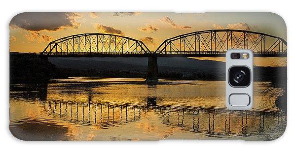 Guffey Bridge At Sunset Idaho Journey Landscape Photography By Kaylyn Franks Galaxy Case