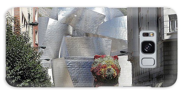 Gehry Galaxy Case - Guggenhiem 1 Bilboa Spain by Paul Basile