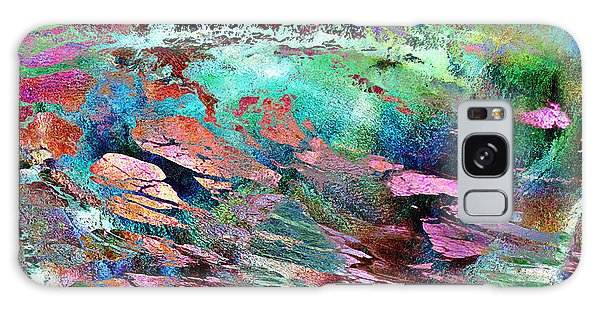 Guided By Intuition - Abstract Art Galaxy Case