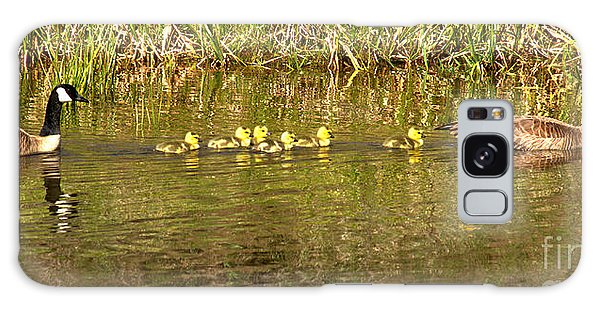 Gosling Galaxy Case - Guiding The Goslings by Adam Jewell