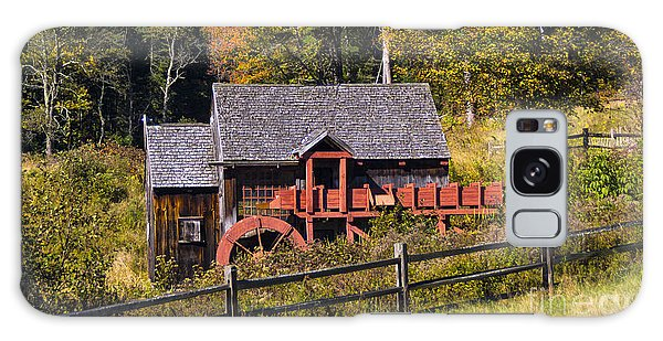 Guildhall Grist Mill In Fall Colors. Galaxy Case