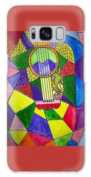 Guitar Abstract Galaxy Case