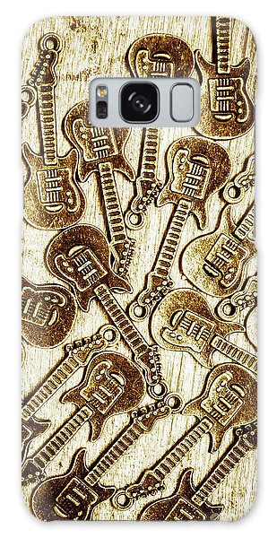 Rock Music Galaxy Case - Guitar Echo Chamber by Jorgo Photography - Wall Art Gallery