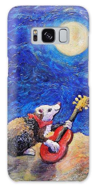 Guitar Ferret Galaxy Case by Sebastian Pierre
