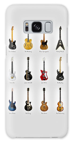 Bruce Springsteen Galaxy S8 Case - Guitar Icons No2 by Mark Rogan