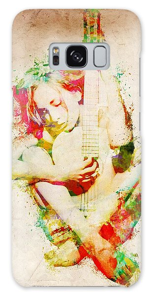Rock And Roll Galaxy S8 Case - Guitar Lovers Embrace by Nikki Smith