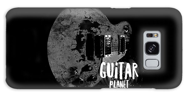 Galaxy Case featuring the photograph Guitar Planet  by Guitar Wacky