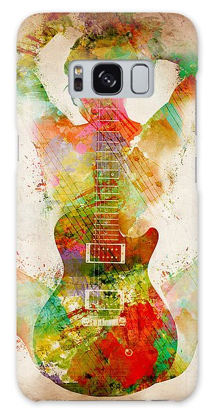 Guitar Siren Galaxy Case by Nikki Smith