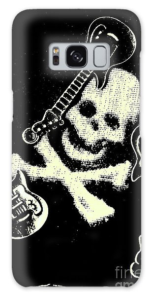 Rock Music Galaxy Case - Guitars Of Black Metal by Jorgo Photography - Wall Art Gallery