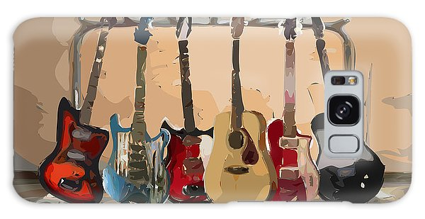 Guitars On A Rack Galaxy Case