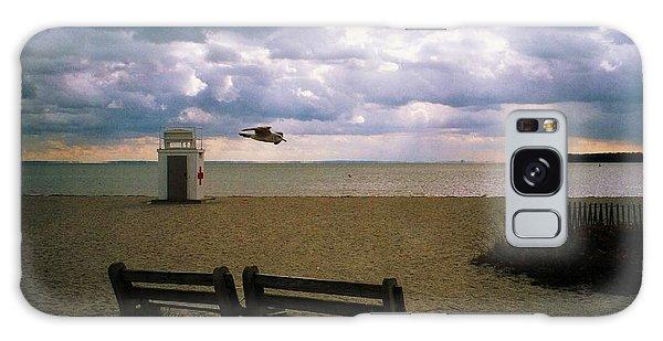 Gulf Beach Galaxy Case by John Scates