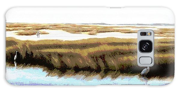 Gulf Coast Florida Marshes I Galaxy Case