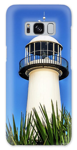 Gulf Coast Lighthouse Seascape Biloxi Ms 3819a Galaxy Case