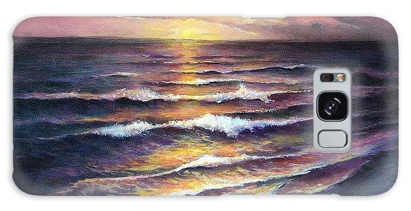 Gulf Coast Sunset Galaxy Case