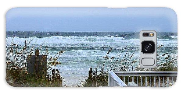 Gulf Coast Waves Galaxy Case by Debra Forand