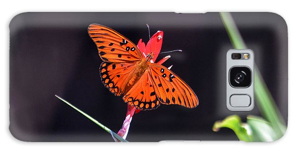 Gulf Fritillary Butterflyl Galaxy Case