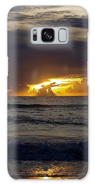 Gulf Sunset Galaxy Case
