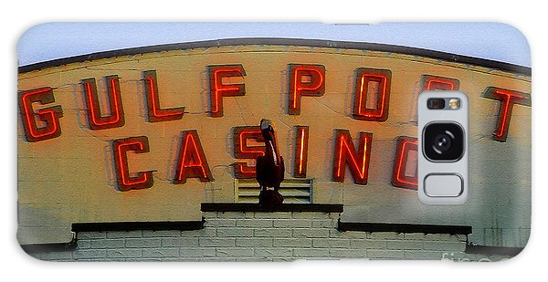 Old Florida Galaxy Case - Gulfport Casino by David Lee Thompson