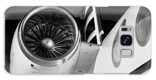 Galaxy Case - Gulfstream Right Side And Engine by Bob Neiman
