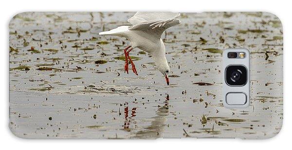 Gull Fishing 01 Galaxy Case