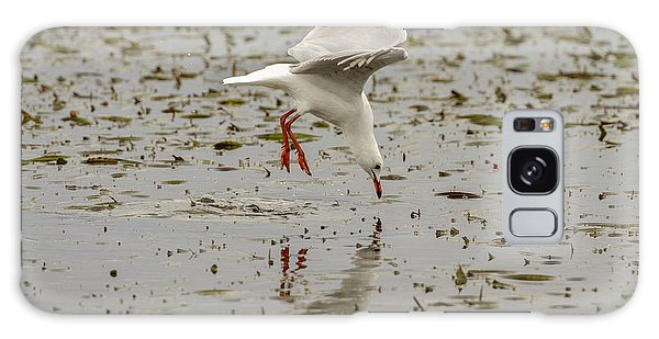 Gull Fishing 01 Galaxy Case