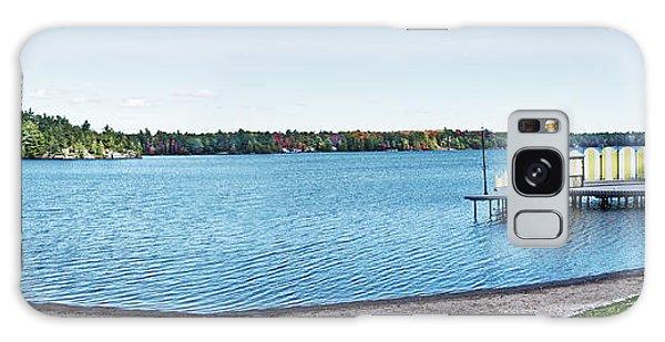Gull Lake Panorama Galaxy Case