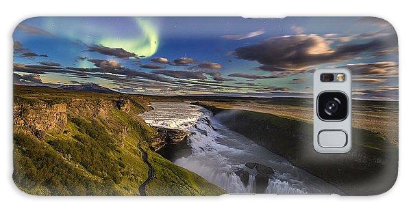 Gullfoss Iceland Galaxy Case