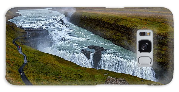 Gullfoss Waterfall #2 - Iceland Galaxy Case