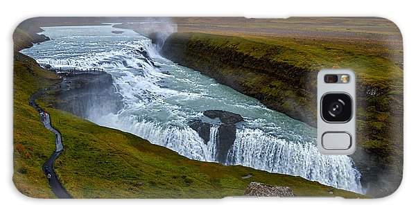 Gullfoss Waterfall #2 - Iceland Galaxy Case