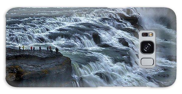 Gullfoss Waterfall #6 - Iceland Galaxy Case