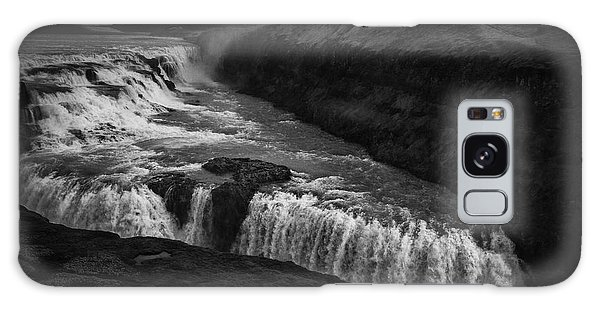 Gullfoss Waterfall Galaxy Case