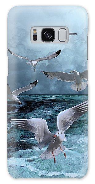 Gulls' Banquet Galaxy Case