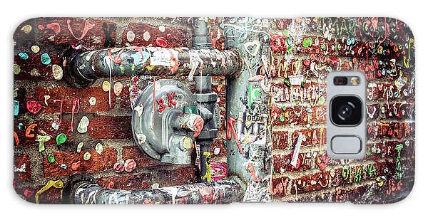 Gum Drop Alley Galaxy Case by Spencer McDonald