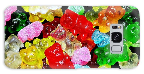 Gummy Bears Galaxy Case by Vivian Krug Cotton