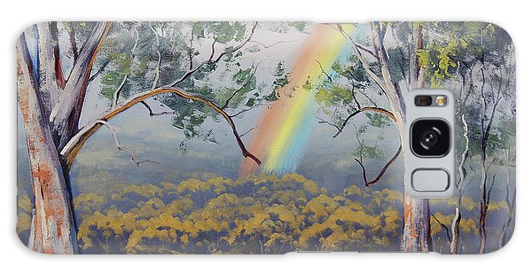 Realistic Galaxy Case - Gums With Rainbow by Graham Gercken