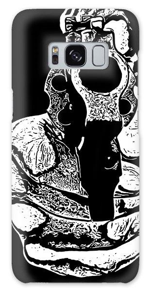 Guns Galaxy Case - Gunman T-shirt by Edward Fielding