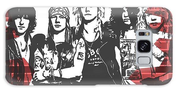 Guns N Roses Graffiti Tribute Galaxy Case