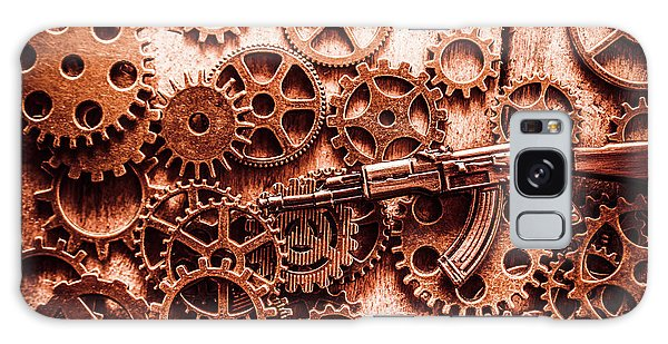 Motor Galaxy Case - Guns Of Machine Mechanics by Jorgo Photography - Wall Art Gallery