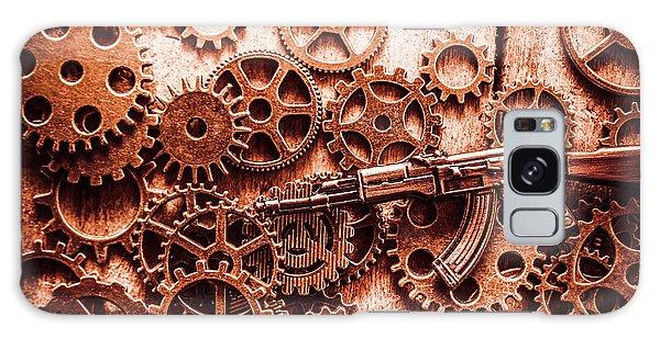 Assault Galaxy Case - Guns Of Machine Mechanics by Jorgo Photography - Wall Art Gallery
