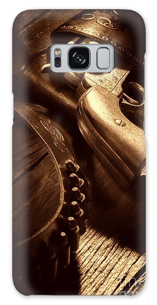 Gunslinger Tool Galaxy Case by American West Legend By Olivier Le Queinec