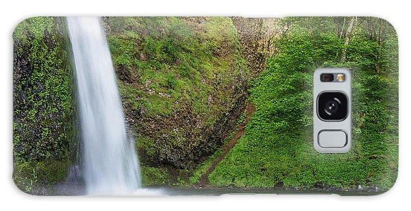 Gushing Horsetail Falls Galaxy Case by Greg Nyquist