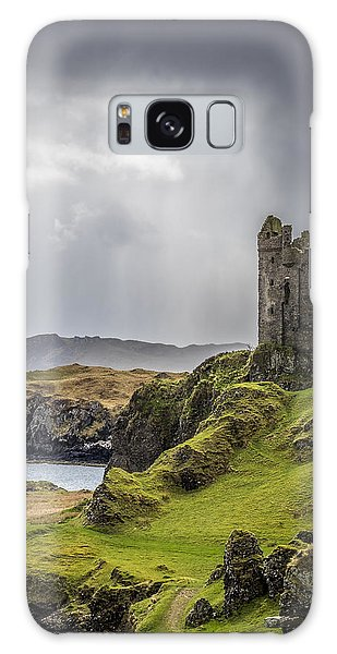 Gylen Castle On Kerrera In Scotland Galaxy Case