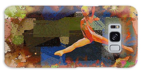 Gymnast Girl Galaxy Case