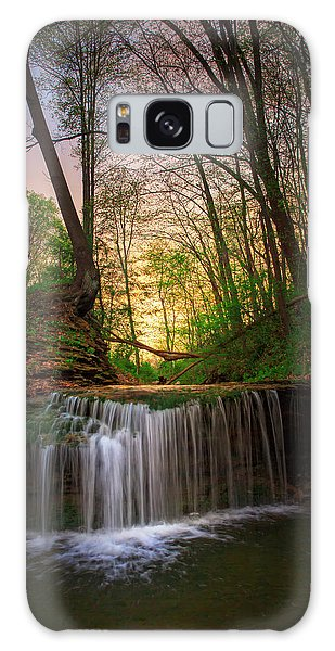 Gypsy Glen  Rd Waterfall  Galaxy Case
