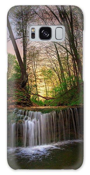 Gypsy Glen  Rd Waterfall  Galaxy Case
